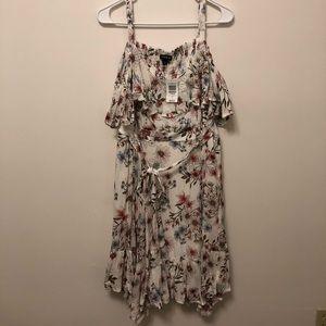 Torrid Off the Shoulder Floral Dress